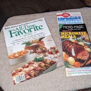 3 microwave cook bks, 1 BH&G Recipe Magazine